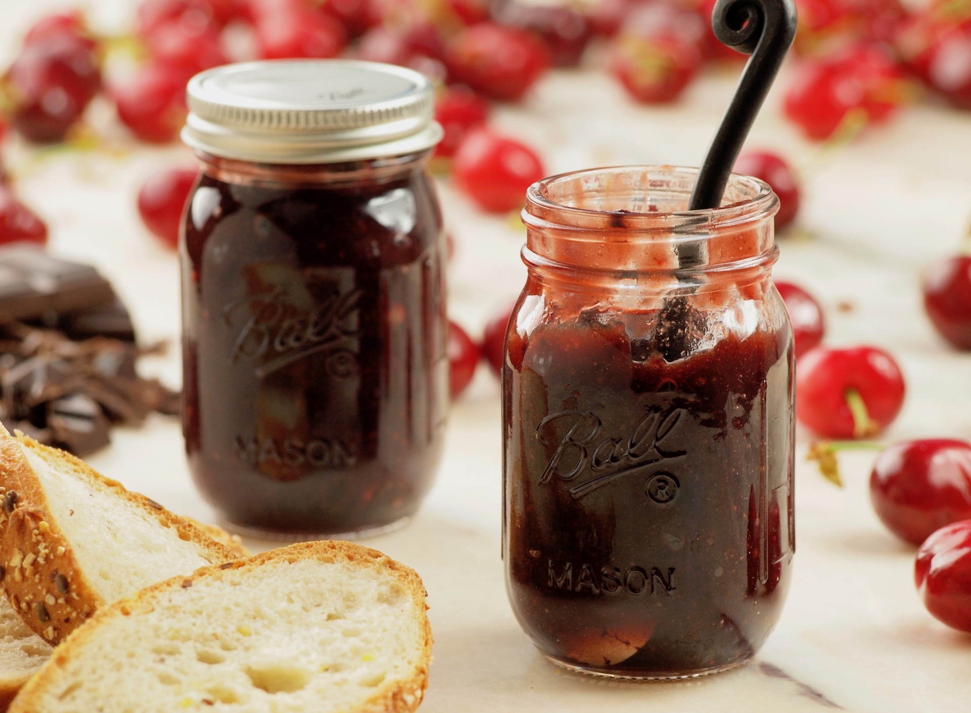 Emily's Chocolate Covered Cherry Jam