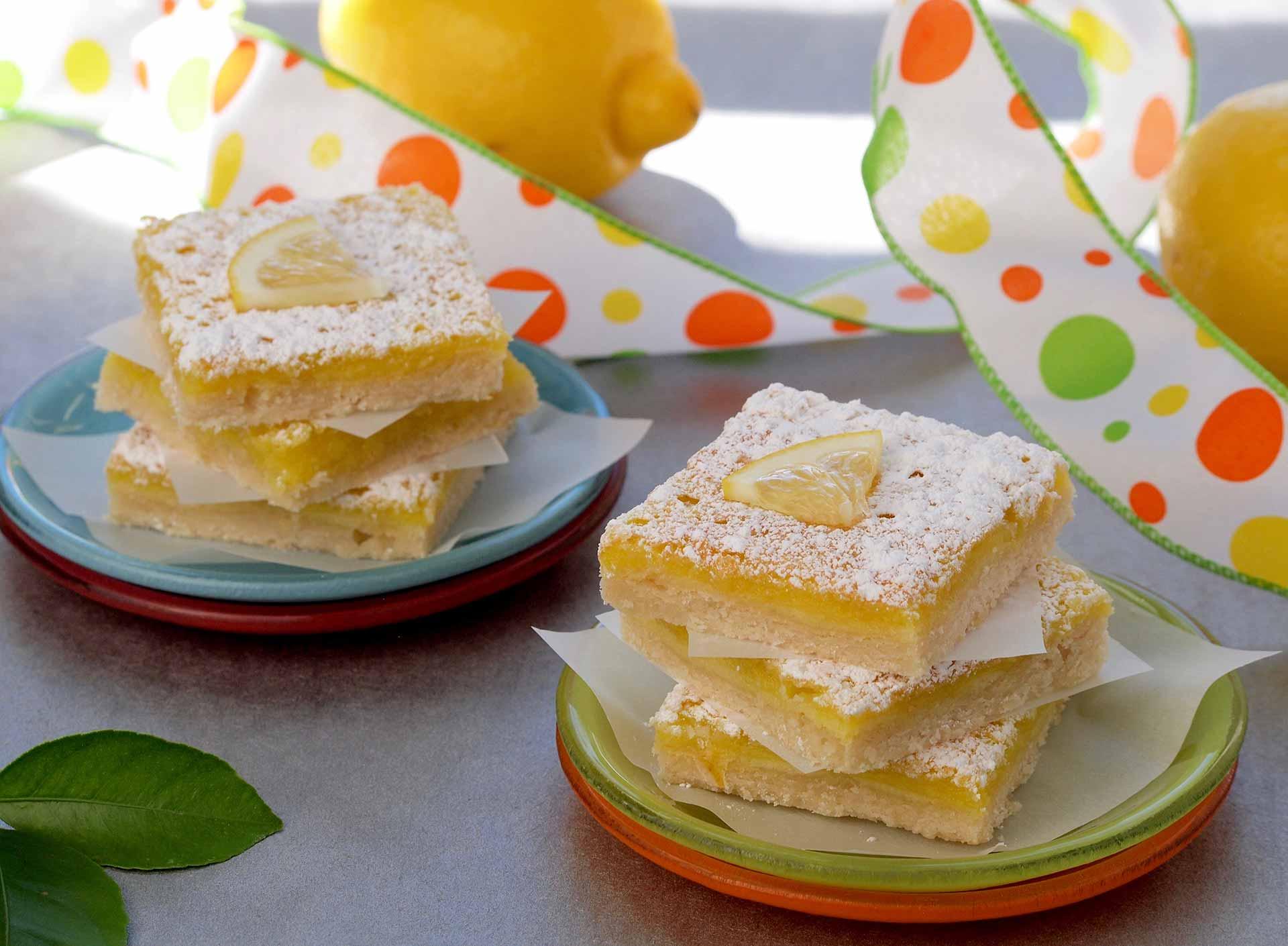 Ricotta Limoncello Dessert Bars