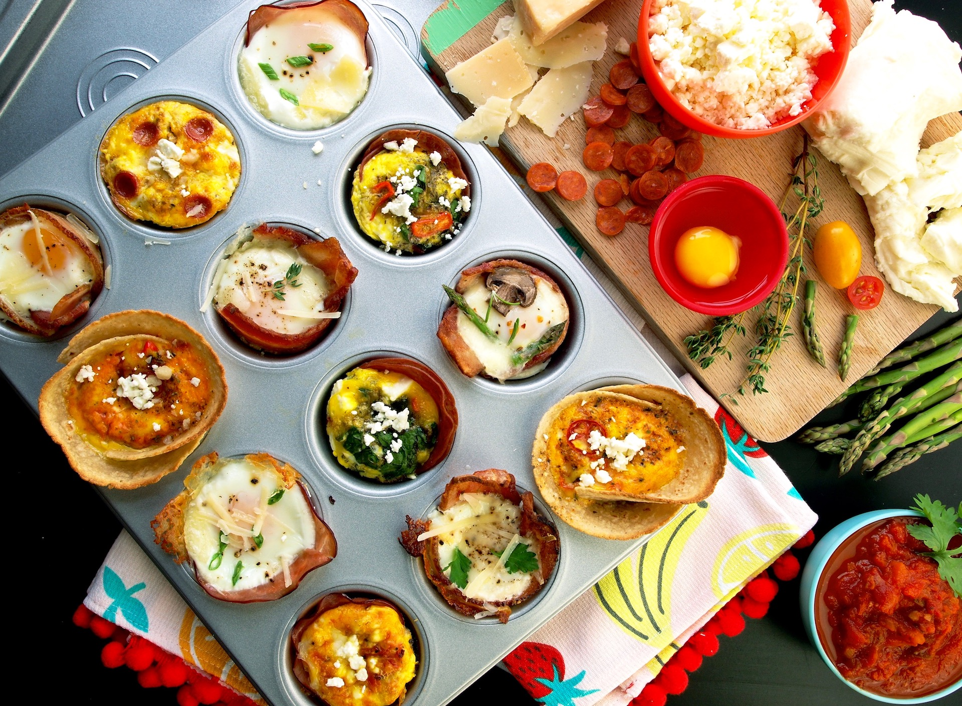 Custom Baked Egg Brunch Cups